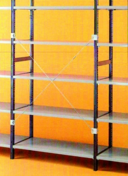 Stationary shelf rack  EUROLOCK